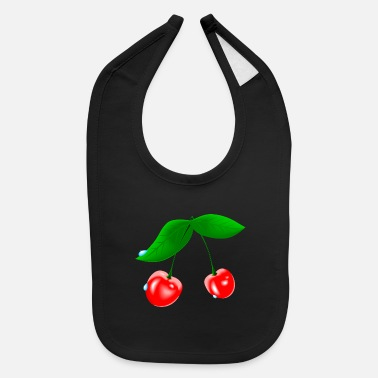 Wet Wet Cherry - Baby Bib