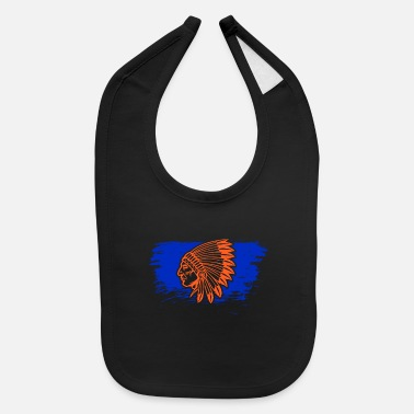 American Indian American Indians - Baby Bib