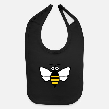 Bumble Bee bee wasp bumble bee insect - Baby Bib