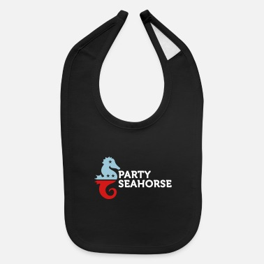 Animal Political Party Animals: Seahorse - Baby Bib