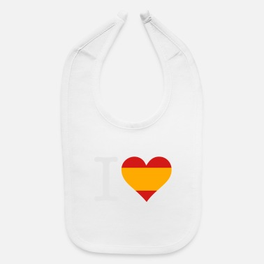 Don Quijote I Love Spain - Baby Bib