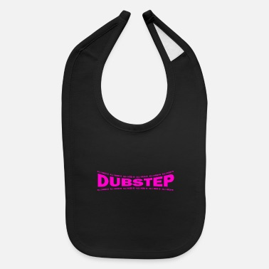 LOVE TECHNO GESCHENK goa pbm DUBSTEP bpm - Baby Bib
