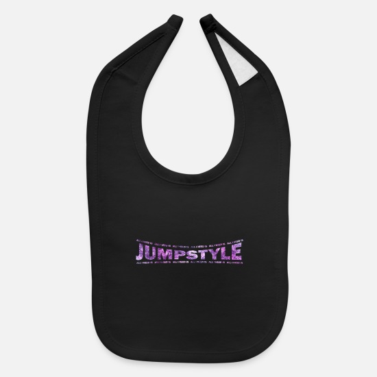 Love Baby Clothing - LOVE TECHNO GESCHENK goa pbm JUMPSTYLE goa - Baby Bib black