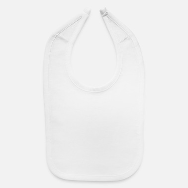 Not Allowed disrespect not allowed White - Baby Bib