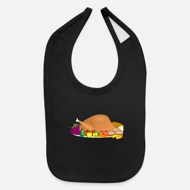 Turkey turkey - Baby Bib