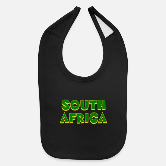 Gift Idea Baby Clothing - South Africa - Cape Town - Johannesburg - Durban - Baby Bib black