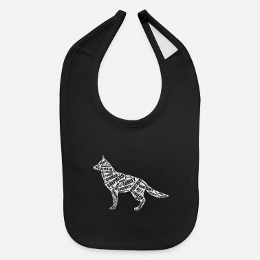 German Shepherd German Shepherd - Baby Bib