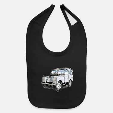 Vehicle vehicle - Baby Bib