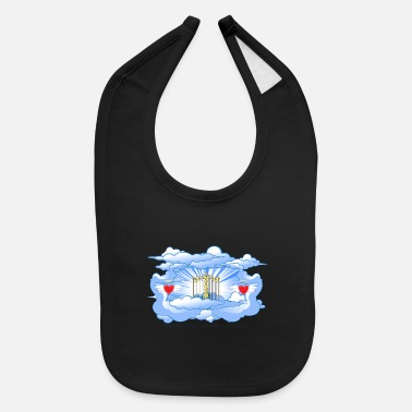 Gate Gates of Heaven - Baby Bib