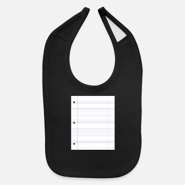 Paper Ruled line paper a4 papers - Baby Bib