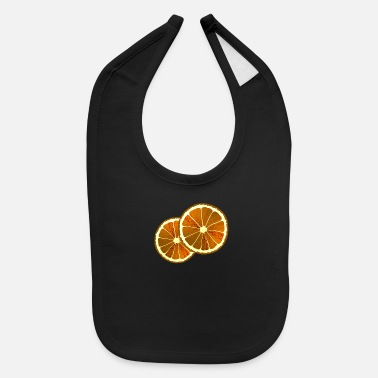 Dried Fruits Dried Citrus Fruit Gift - Baby Bib