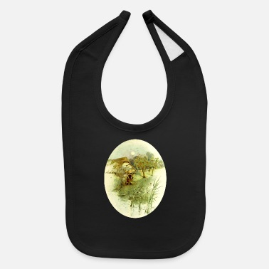 5 Country scene 5 - Baby Bib