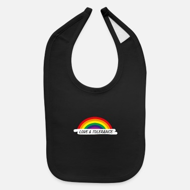 Tolerance love and tolerance homosexuality - Baby Bib