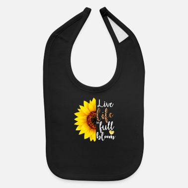 Flora Live Life in Full Bloom - Baby Bib