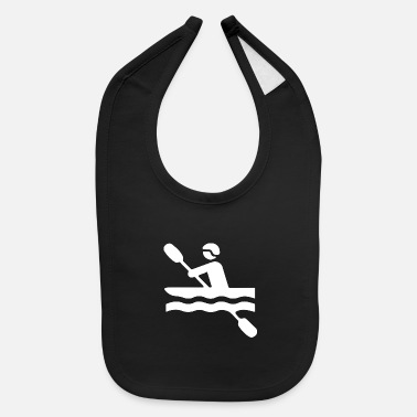 Water Sports kayak dudes 2 - Baby Bib