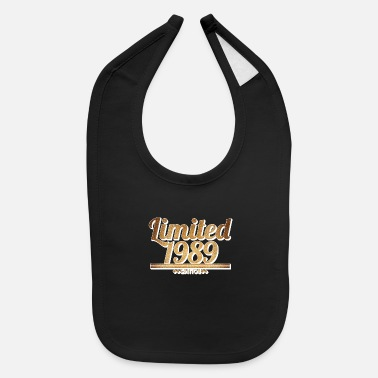 Since Limited 1989 Edition - Birthday Design - Baby Bib