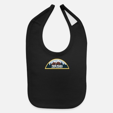 New Twin Peaks Sheriff Department 90s - Baby Bib