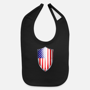 shield small - Baby Bib