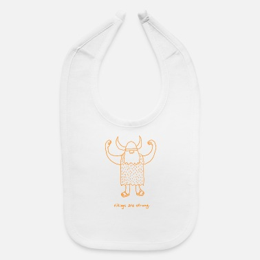 Viking vikings - Baby Bib