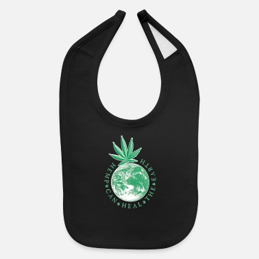 Hemp Hemp Can Heal the Earth - Baby Bib