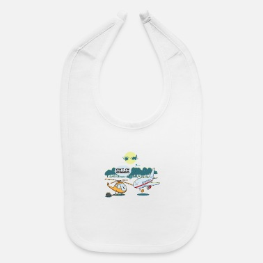 Cute Helicopter Cool Funny Cute Helicopter Pilot Fans BoysJokes - Baby Bib