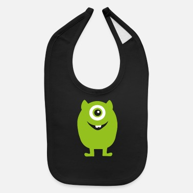 Monster monster - Baby Bib