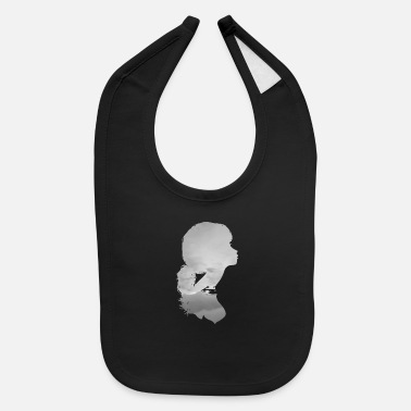 Grey Girl Grey - Baby Bib