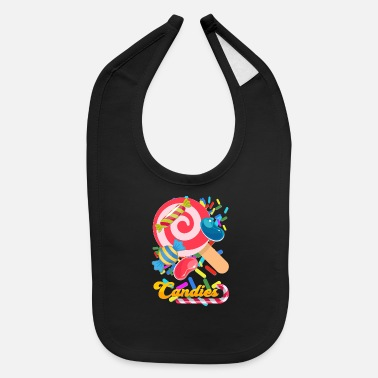 Candy candies - Baby Bib
