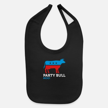 Animal Political Party Animals: Taurus - Baby Bib