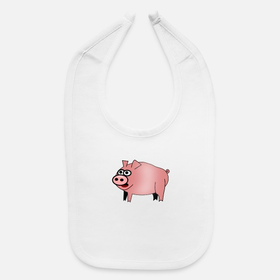 Grillmaster Baby Clothing - bbq barbecue grillen burger beef bacon steak spare - Baby Bib white