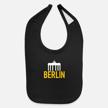Berlin Berlin - Brandenburg Gate - Deutschland - Germany - Baby Bib