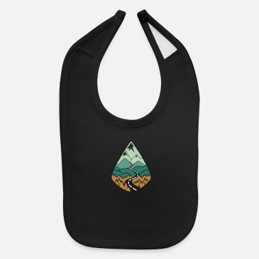 Mountains Mountain - Baby Bib