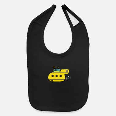 Under Water Submarine, under water - Baby Bib