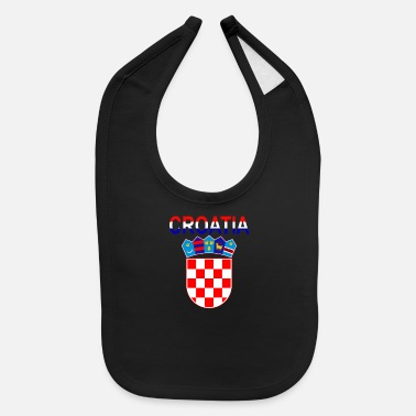 Coat Of Arms Croatia Coat Of Arms - Baby Bib