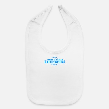 Meeting Meet Exceed - Baby Bib