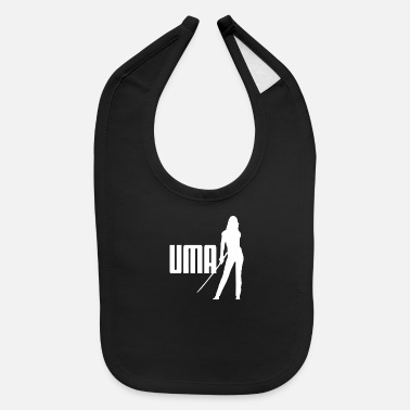 Cult Film KILL BILL UMA TV CULT INSPIRED FILM - Baby Bib