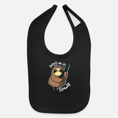 Slow Slow Sloth - Baby Bib