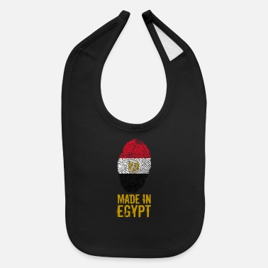 Egypt Made in Egypt / مصر - Baby Bib