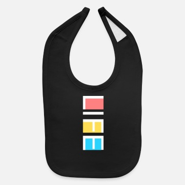 Cupid colorful life quote - Baby Bib