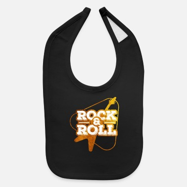 Shouter Rock and roll - Baby Bib