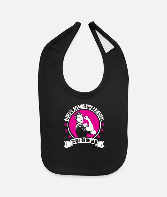 Profession Baby Bibs - Clinical Affairs Vice President - Baby Bib black