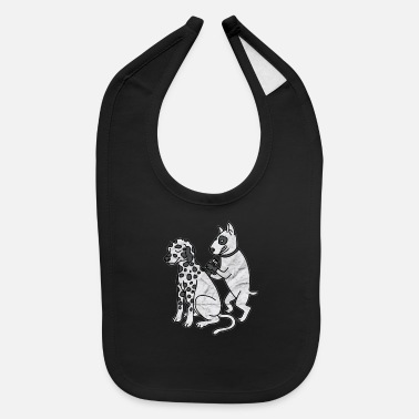 Dogs And Tattoo - Baby Bib