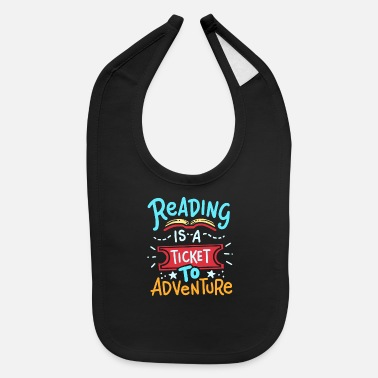 Read Reading Read - Baby Bib