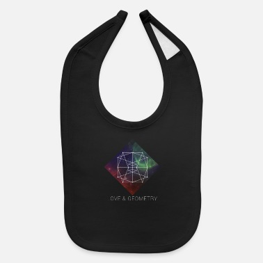 Geometry Sacred Geometry - Love And Geometry - Baby Bib