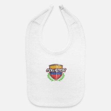 South America Ecuador Quito South America - Baby Bib
