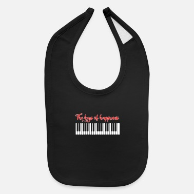 Piano Piano Happiness - Baby Bib