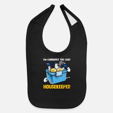 Cleaning Lady Housekeeper Maid Service Cleaning Lady - Baby Bib