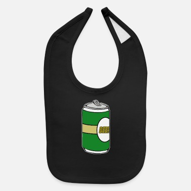 Beer Beer - Beer - Beer cans - Can of Beer - Baby Bib