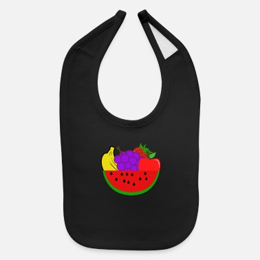 Fruit Fruits - Baby Bib