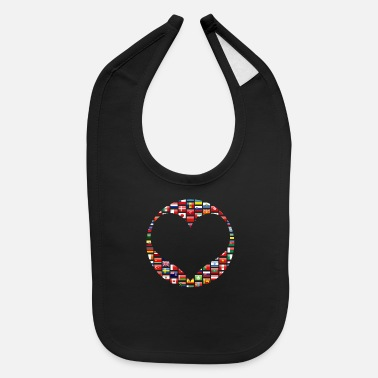 Pride National Country Flag - Baby Bib